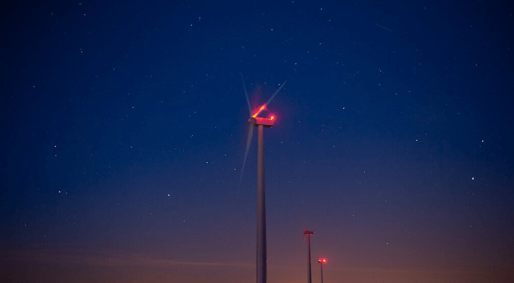 wetra uçak ikaz lambası rüzgar türbini