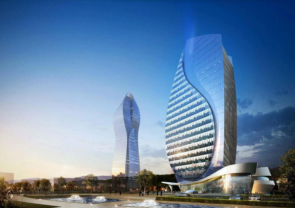 Azerbaycan Azersu Tower - MIOL-A