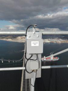Luxsolar Uçak ikaz lambaları Osmangazi Köprüsü - GPS Kutusu