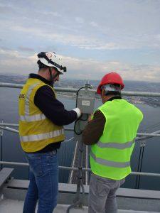 Osmangazi Köprüsü - Uçak ikaz lambaları GPS Modülü Kutusu Kurulumu