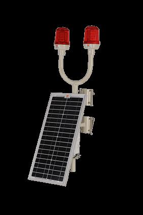 Wetra İkiz Güneş Enerjili Uçak İkaz Lambası