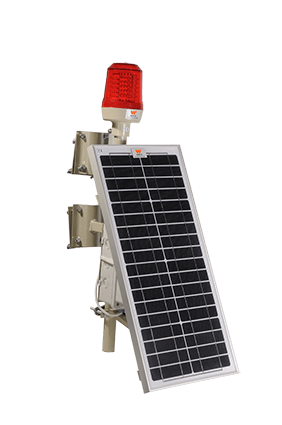 Wetra Tekli Güneş Enerjili Uçak İkaz Lambası