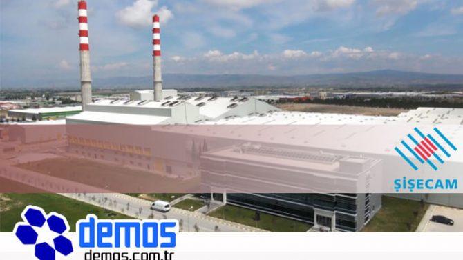 Trakya Cam Polatlı Tesisi Bacalarında Luxsolar Orta Yoğunluklu Uçak Ikaz Lambası Kullanılıyor